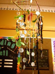 Ms. Liebel's Classroom: The Peace Chandelier. Maybe in the relaxation area?