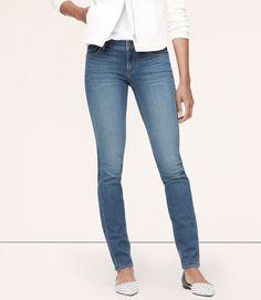 Curvy Skinny Jeans in Spectral Blue | LOFT
