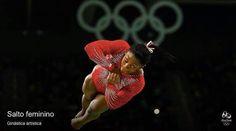 ••• AdrenaLady Simone Biles from USA - Gold Medal in Artistic Gymnastics Women's Vault (15.966); Artistic Gymnastics Women's Individual All-Around (62.198); Artistic Gymnastics Women's Team (184.897) and Artistic Gymnastics Women's Floor Exercise (15.966) - Olympic Games Rio 2016 #adrena_ladies #badassery #girlspower #olympicgames #olimpiadas2016 #riodejaneiro #rio2016 #sport #thatsgold #askhermore #olympicathlete #teamusa #usa #artisticgymnastic #olympicteamusa — with Simone Biles, Olympic,