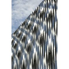 "26 Likes, 1 Comments - acme (@acmespace) on Instagram: ""Carpark #facade from twisted #aluminium #fins at Victoria Gate Leeds. @victoria_gate…"""