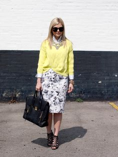 424 Fifth #style #fashion #yellow
