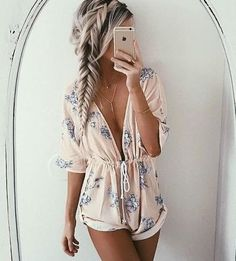 Loving this braided crown + into a fishtail braid! So pretty + perfect for summer!