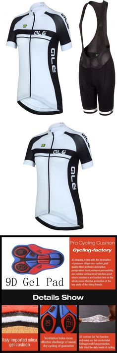 Jersey and Pant Short Sets 177852: C068 Women New Cycling Clothes Cycling Jersey 9D Bib Shorts Set Bicycle Jersey -> BUY IT NOW ONLY: $33.25 on eBay!