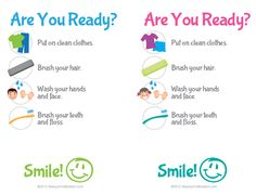 Print this Free Kids hygiene checklist and easily help them develop those simple routines each and every day.