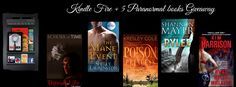 #KindleFire with 5 of my favorite #paranormal reads #giveaway