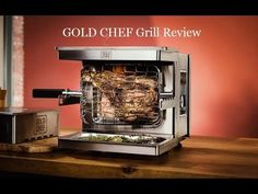 Gold Chef - Revolutionary Anti - Flare Grill Review