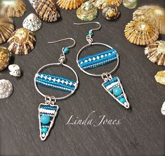 Beady 'boho' earrings