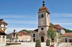 Champagnole - Jura dept. - Franche-Comté région, France      .....www.directcamping.co.uk