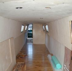 Insulating, flooring and lining out - Iron Maiden - Narrowboat Restoration Project