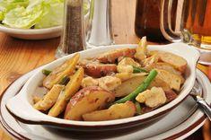 Simple Dinner Recipe: Chicken, Potato & Green Bean Casserole - 12 Tomatoes