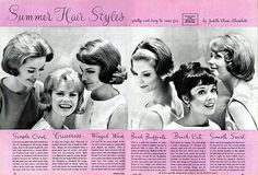 Hairstyles for 1962