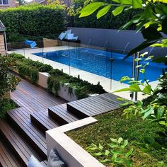 Stock Tank Swimming Pool Ideas, Get Swimming pool designs featuring new swimming pool ideas like glass wall swimming pools, infinity swimming pools, indoor pools and Mid Century Modern Pools. Find and save ideas about Swimming pool designs. Backyard Pool Landscaping, Backyard Pool Designs, Small Backyard Pools, Small Pools, Swimming Pools Backyard, Swimming Pool Designs, Pool Fence, Landscaping Ideas, Backyard Ideas