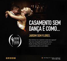 E-mail Marketing - Casamento sem dança é... Studio de Dança Dois pra lá Dois pra cá