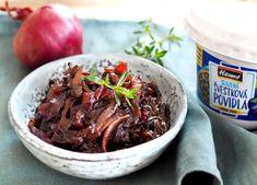 Cibulové čatní Beef, Food, Party, Meat, Essen, Parties, Meals, Yemek, Eten