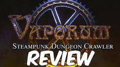 Vaporum Review | Steampunk Dungeon Crawler RPG Indiegame (2018)
