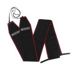 MuscleDriver USA Mdusa Cloth Wrist Wraps (Mdusa Cloth Wrist Wraps ( w/Red Stitching))