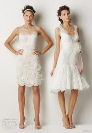 I just want the dress on the left...maybe for rehearsal dinner? Eh, maybe not...but I want it!