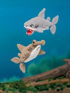 Bathtime Buddies – 20 Crocheted Animals from the Sea Sharks