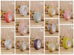Washi tape de la marca mt Deco en un montón de colores y motivos, disponibles en www.miamandarina.es
