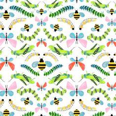 Caterpillars Art Print