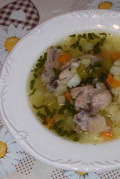 Cristina's world: Ciorba de potroace Bun Bun, Roman, Food And Drink, Pork, Beef, Homemade, Cooking, Mariana, Breads