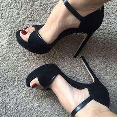 high heels – High Heels Daily Heels, stilettos and women's Shoes Lace Up Heels, Pumps Heels, Stiletto Heels, Heeled Sandals, Black Sandal Heels, Brown Sandals, High Heels Outfit, Black High Heels, Black Toe