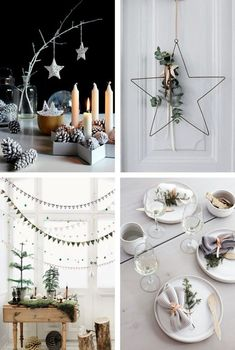 90 Scandinavian Christmas decorating ideas for the ultimate hygge feeling at home - scandinavian christmas decorations nordic table decorations ideas - Scandinavian Christmas Decorations, Swedish Christmas, Rustic Christmas, Winter Christmas, Christmas Time, Christmas Crafts, Xmas, Holiday Decor, Christmas Fashion