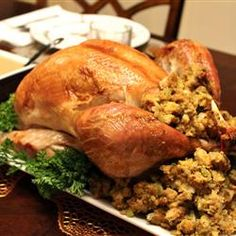 "Citrus Turkey Brine | ""EXCELLENT! Brined turkey is the moisted and most flavorful I've ever had."""