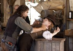 Hell on Wheels  Cullen Bohannon (Anson Mount) and Sean McGinnes (Ben Esler)