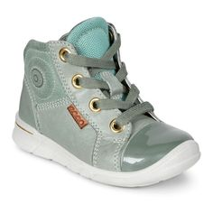 ECCO First 75402150376 Frosty Green/ Ice Flower - Kids Casual Boots
