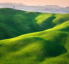 Idyllic Photographs of the Tuscan and Moravian Landscapes. Single by Marcin Sobas, via 500px