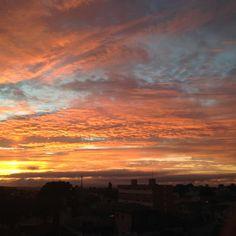 Das vantagens de acordar cedo… Bom dia! #sunrise #natureza #nofilter #bynina #instabynina
