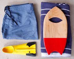 Bodysurfing Hand Plane - Handcrafted Wood Hand Board for Bodysurfing- Handplane