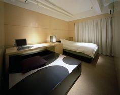 Hotel room, Osaka Prefecture, Mifune Design Studio