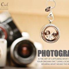 Origami Owl Photographer Camera Locket www.owllockets.com