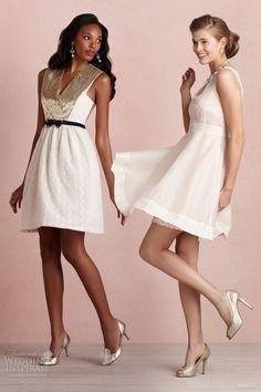 bhldn bridal 2013 short dresses sequins