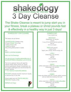 The Shakeology 3 Day Cleanse is a shorter version of the Meal Replacement Weight Loss program and it boasts 3 to 5 pound weight loss in only three days.