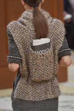 chanel knitt back pack - Buscar con Google