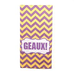 Geaux Hand Towel