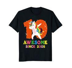 Tie Dye Kids Unisex Girl TShirt Unique Gift Unicorn Dance Party Festival RAINBOW
