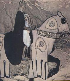 John Bauer, Bianca Maria, 1913