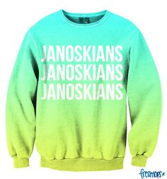 Janoskians crewneck sweater