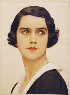 Portrait by Bernard Boutet de Monvel (1881-1949)