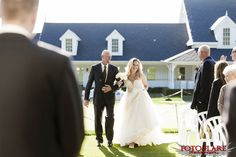 Craig & Shawna's Wedding at Copetown Woods Golf Club Woods Golf, What A Beautiful Day, Outdoor Ceremony, Father, Bride, Guys, Wedding Dresses, Pai, Wedding Bride