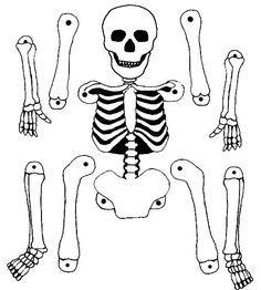 Pantin squelette A skeleton puppet to print and make for Halloween. Halloween Mono, Theme Halloween, Halloween Arts And Crafts, Halloween Decorations For Kids, Halloween Crafts For Toddlers, Holidays Halloween, Vintage Halloween, Halloween Diy, Happy Halloween