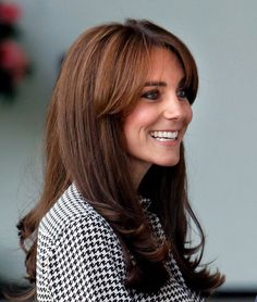 Pin for Later: Everything You Need to Know About the Sexy, Shaggy Way to Wear Bangs Kate Middleton