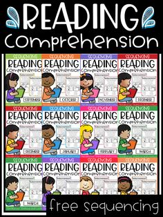 FREE Kindergarten Sequencing Reading Comprehension Passages Best reading comprehension passages with visuals for beginning readers in kindergarten and in first grade. These reading comprehension activities are perfect for ESL/ELL students and special education. | reading comprehension | kindergarten reading comprehension | picture comprehension | kindergarten | kindergarten reading | first grade | first grade reading | ESL | ELL | free | freebies | free kindergarten worksheet | sequencing