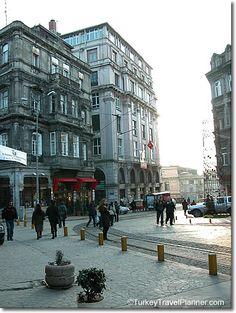 Tunel Square, Beyoglu, Istanbul, Turkey