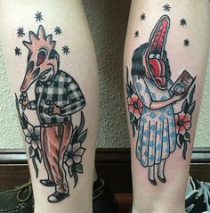 Beetlejuice tattoo!