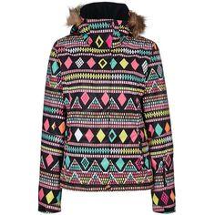 Roxy JET SKI INDIES Snowboard jacket ($170) ❤ liked on Polyvore